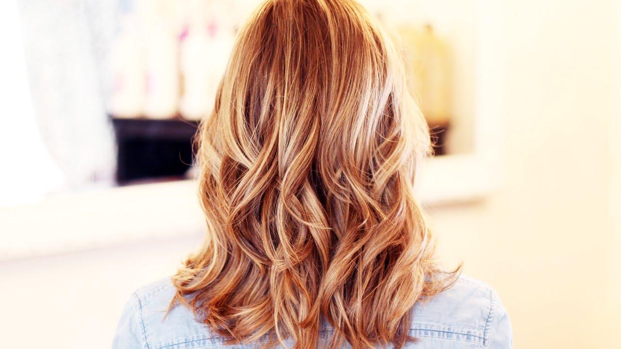 balayage blond, j'ai décidé de changer de tête