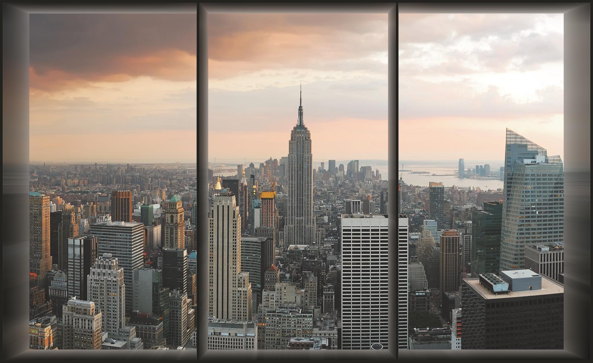 Les diff rents types de papier peint new york for City view wallpaper mural